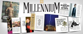 Fq MillenniuM in edicola – Confessionali e comunità di recupero per preti: qui muore la rivoluzione di Bergoglio