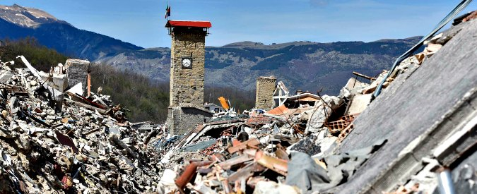 """Sisma Centro Italia, Stato promette 100 milioni per rimuovere le macerie. Pirozzi: """"Dopo 11 mesi portato via solo il 10%"""""""
