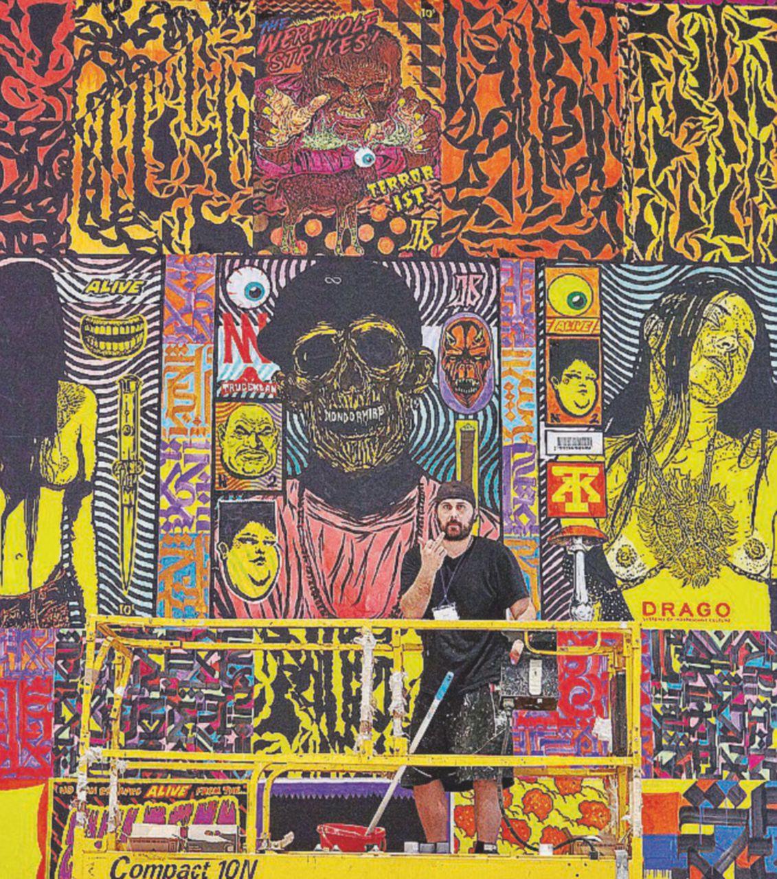 """""""Il graffitista non è un criminale ma un artista, anche da museo"""""""