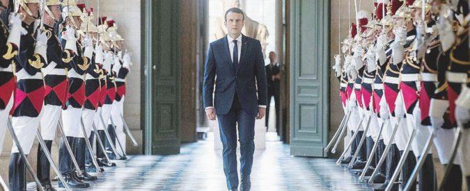 "Macron ""copia"" Renzi: taglio dei parlamentari e referendum"