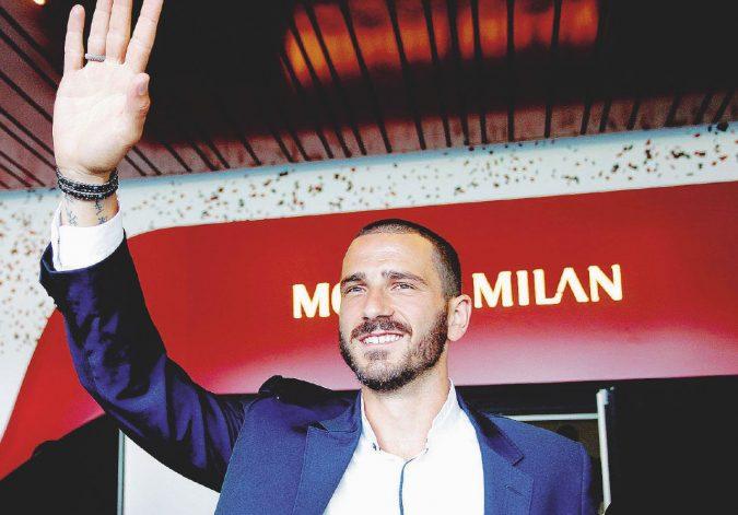 Bonucci è del Milan, la notte di Cardiff non è ancora finita