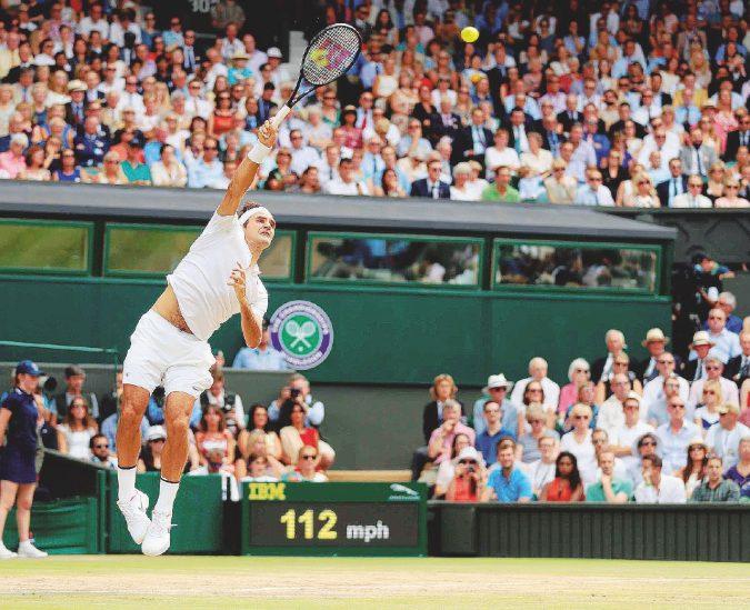 Otto volte re di Wimbledon Federer non perde un set