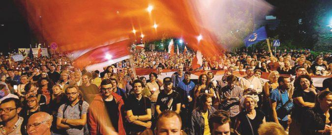 """""""Diritto e giustizia"""" per pochi: la Polonia prende a pugni l'Ue"""