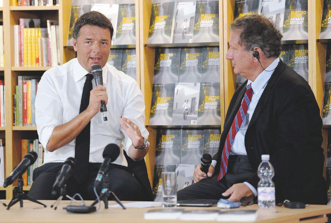 In Edicola sul Fatto Quotidiano del 22 luglio: Maximarchetta Rai a Renzi: presenta il suo libro in diretta