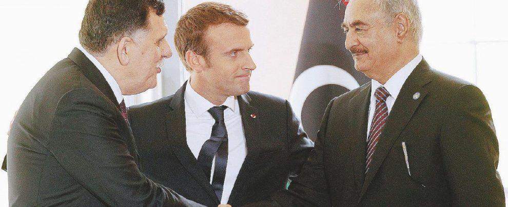 Au revoir Roma: al Sarraj e Haftar, pace sotto l'Eiffel