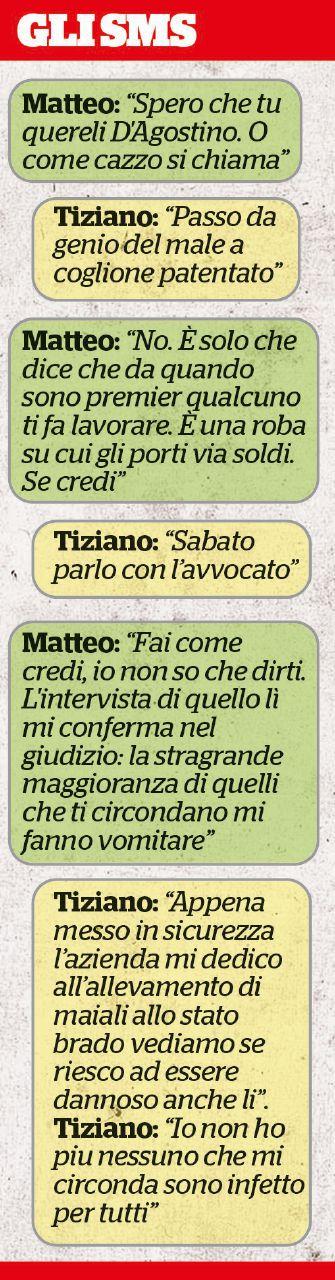 In Edicola sul Fatto Quotidiano del 30 luglio: Consip, Messaggi di fuoco di Matteo a Tiziano