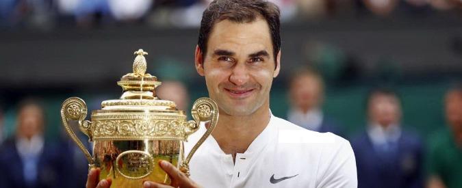 Wimbledon, Roger Federer vince per l'ottava volta in carriera. Il croato Marin Cilic battuto in tre set