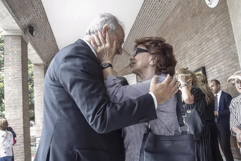 Walter Veltroni e Luciana Castellina