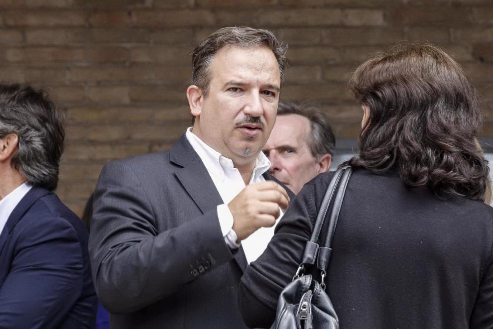 Luca Telese, giornalista e compagno di Laura Berlinguer, una delle figlie di Enrico e Letizia