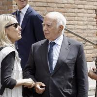 Federica Sciarelli e Paolo Cirino Pomicino