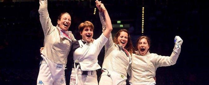Mondiali scherma, l'Italia conquista l'oro nella sciabola donne