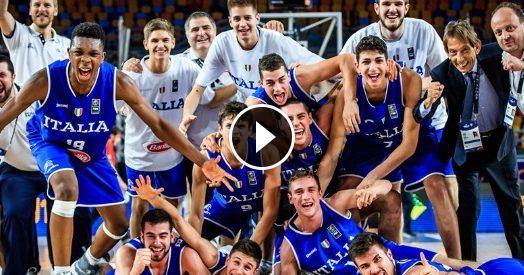 Basket, Italia Under 19 batte la Spagna ed è in finale mondiale  Alle 20