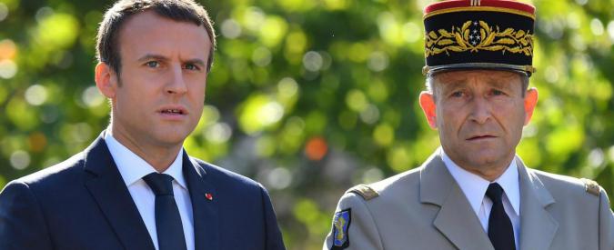 """Francia, si dimette il capo dell'esercito in polemica con Macron: """"Troppi tagli, non posso garantire protezione"""""""