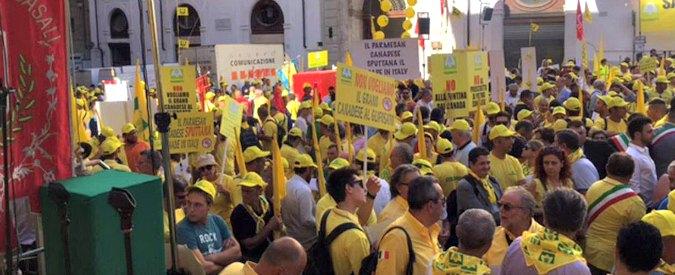 Ceta, in piazza a Montecitorio contro la firma di un trattato sbagliato