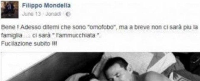 """Omofobia, gestore casa vacanze calabrese postava da tempo commenti anti-gay su Facebook: """"Omosessuali? Fucilazione"""""""