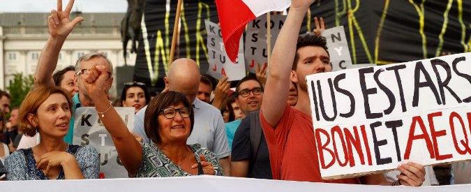 Polonia, l'attivista: 'Anche con leggi meno estremiste, questa riforma della giustizia sarebbe un disastro per la democrazia'