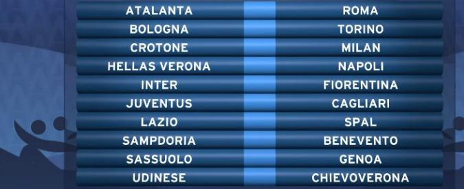Campionato Serie A Calendario.Calendario Serie A 2017 2018 Ecco Tutte Le Giornate Del
