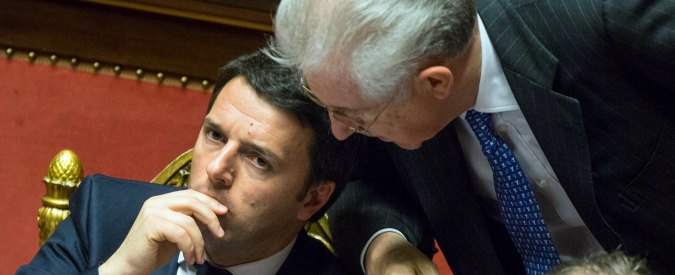 """Renzi: """"Crescita Pil merito mio, aumento della povertà colpa di Monti"""". La comoda lettura dei dati del 2016 del segretario Pd"""