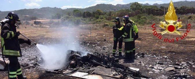 Sardegna, cade ultraleggero in Gallura: due morti carbonizzati