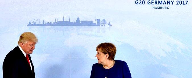 G20 Amburgo, Merkel incassa l'appoggio di Vladimir Putin su clima e commercio