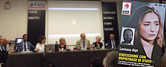 """Ilaria Alpi, la madre Luciana presenta il libro """"Esecuzione con depistaggi di Stato"""". """"E' una vicenda che riguarda tutti noi"""""""
