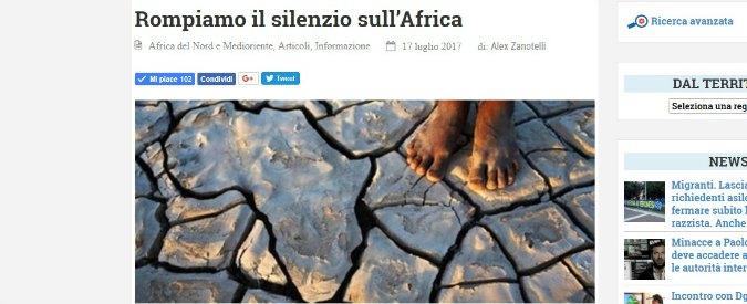 Rompiamo il silenzio mediatico sull'Africa, l'appello di padre Zanotelli ai giornalisti italiani