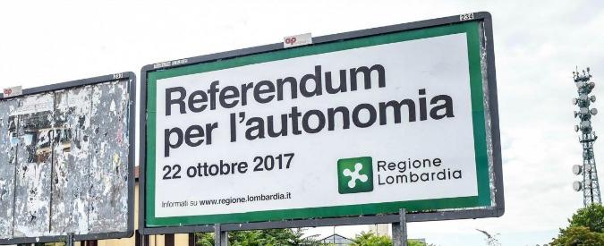 Referendum autonomia Lombardia, una risposta ai pifferai del nord