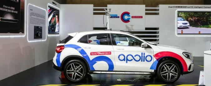 Guida autonoma, la Cina si fa sempre più sotto. Baidu vara il programma Apollo