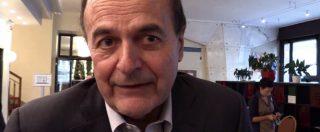 """Ddl antifascismo, Bersani: """"Legge liberticida? M5S mi stupisce. Ma tutti tirano a destra, fossero solo loro…"""""""