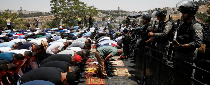 Gerusalemme, i luoghi sacri non si difendono con i mitra