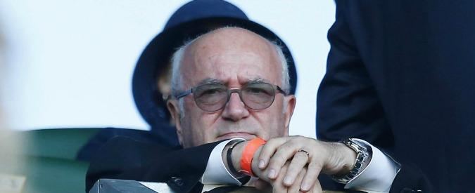 Carlo Tavecchio va all'incasso: 45mila euro per cinque mesi da commissario della Lega Calcio
