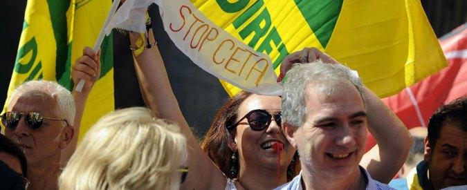 Stop Ttip, presidio a Udine mentre si insedia il Parlamento. Volete rappresentarci? Fermate il Ceta