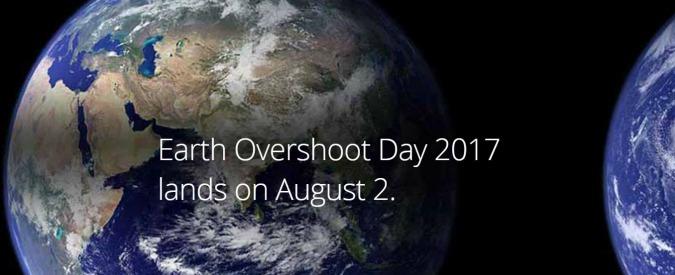 Earth Overshoot Day, il 2 agosto già finite le risorse della Terra per il 2017. E ogni anno va peggio