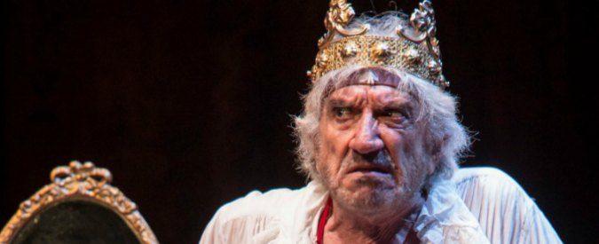 Edmund Kean al Globe Theatre, l'arte di Gigi Proietti forte e gentile