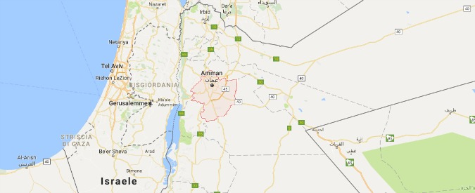 """Giordania, media: """"Ambasciata israeliana isolata: diplomatico ferito a colpi di coltello. Morto l'assalitore"""""""