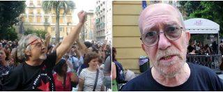 """G8, presidio in piazza Alimonda per Carlo Giuliani. Il papà: """"De Gennaro? Presiede la più grande azienda pubblica, è incomprensibile"""""""
