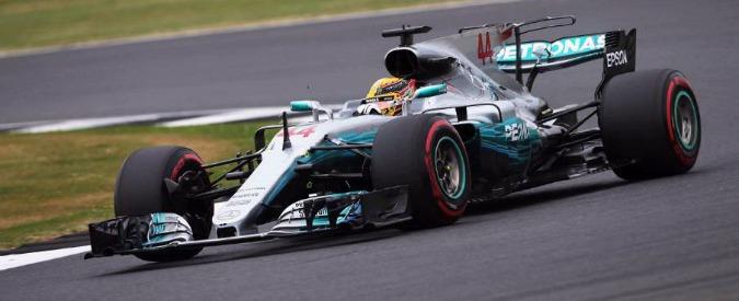 Formula 1, qualifiche Gp di Gran Bretagna: Hamilton in pole. Dietro le Ferrari di Raikkonen e Vettel