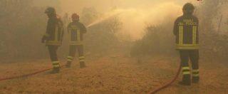 """Incendi, è ancora emergenza in Centro Sud. Il sindaco di Ottaviano: """"Non ce la facciamo più"""". Arrestati due piromani"""