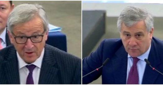 Ue si parla di migranti ma l 39 aula semi deserta scontro for Parlamento in diretta