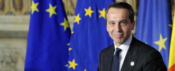 """Migranti, il cancelliere dell'Austria: """"Al Brennero l'emergenza non esiste. Vienna non finisca con Orban e Lega"""""""