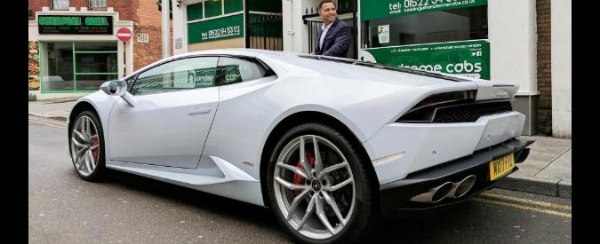 Lamborghini Huracan, in Inghilterra arriva il taxi più figo del mondo
