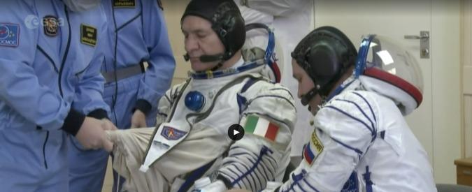 Paolo Nespoli in orbita, al via la missione Vita dopo il lancio con la Soyuz
