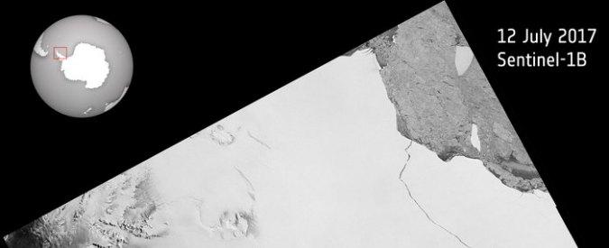 Antartide, si stacca l'iceberg di Larsen C. Ora che succede?
