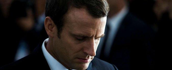 Francia, a un mese dall'elezione crolla la popolarità di Emmanuel Macron