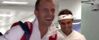Colpo di testa di Nadal, il campione sfida… l'architrave. E rimedia una figuraccia epocale