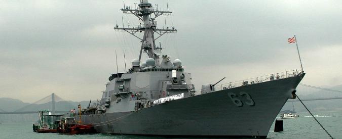 """Cina, nave da guerra americana punta su isola del Tritone. Pechino: """"Gesto provocatorio"""". Usa: """"Esercitazione"""""""