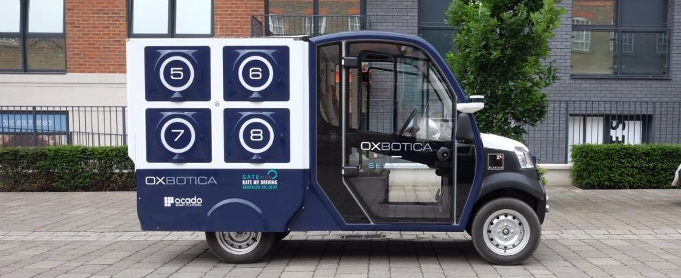Supermercato on-line Vs. Amazon, la consegna self driving della spesa è servita