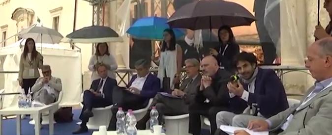 Le porta-ombrelli d'Abruzzo, il partigiano e le inutili teste da riparare