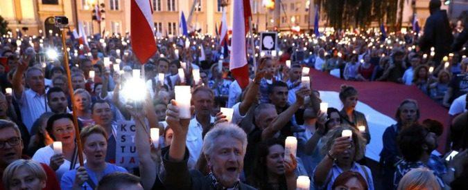 La Polonia lancia una messaggio di libertà a tutt'Europa