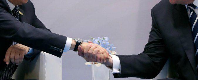 G20 Amburgo, cosa ci dicono le strette di mano di Trump, Putin e gli altri